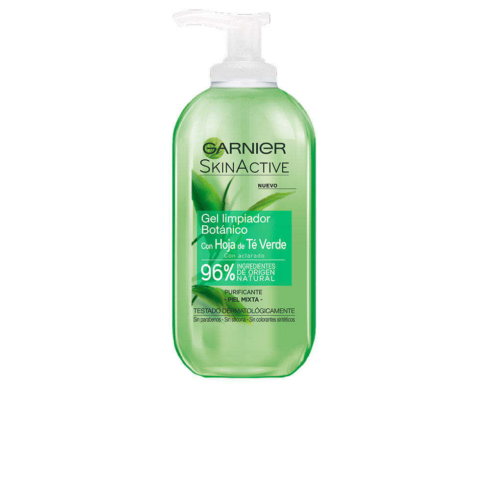 Garnier Skinactive Leaf Te Green Cleansing Gel Mixed Skin 200ml