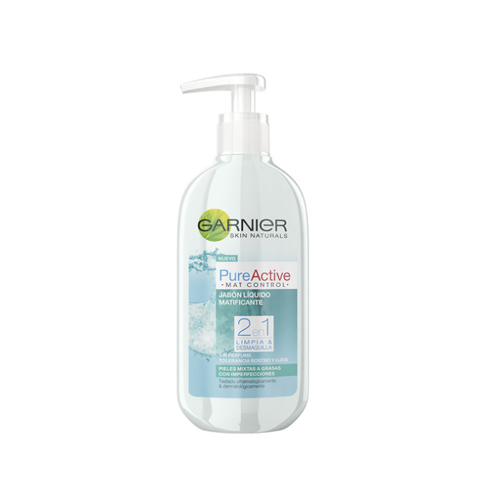 Garnier Pure Active Savon Liquide 200ml
