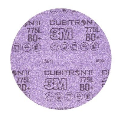 3M 775L Dischi Hookit 150 mm senza foro 80+