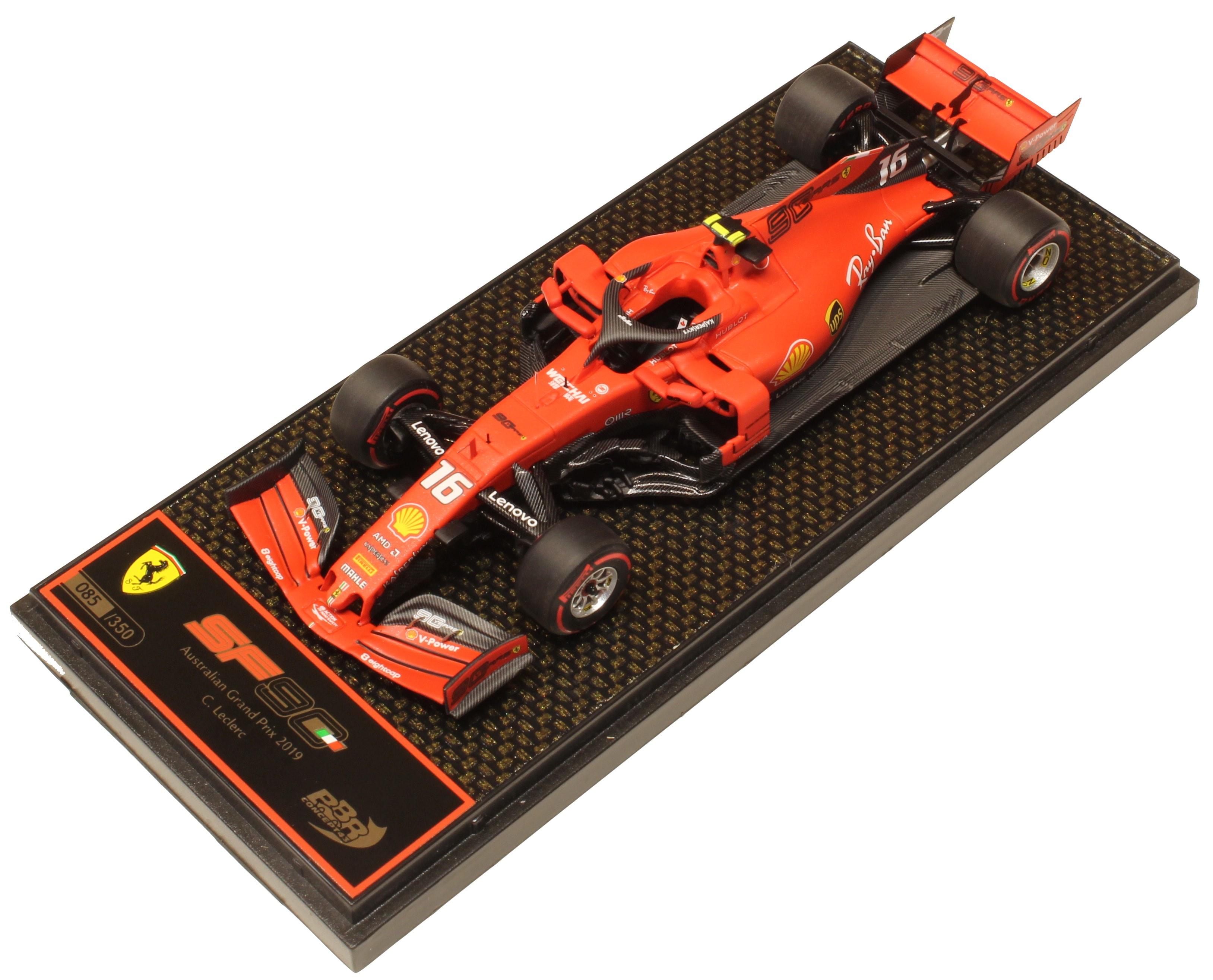 Ferrari SF90 GP Australia 2019 C. Leclerc Ltd 350 Pcs
