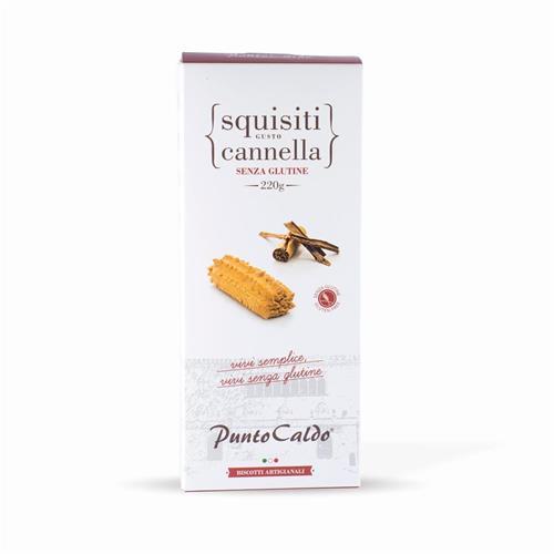 Squisiti gusto cannella artigianali senza glutine