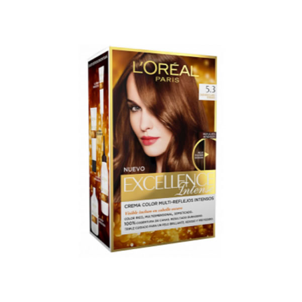 Loreal Excellence Intense 5.3 Light Brown Gold
