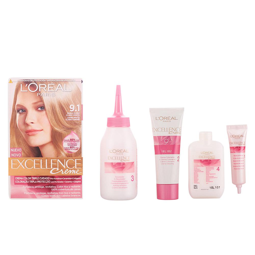 Loreal Excellence Crème 9.1 Natural Light Ash Blonde