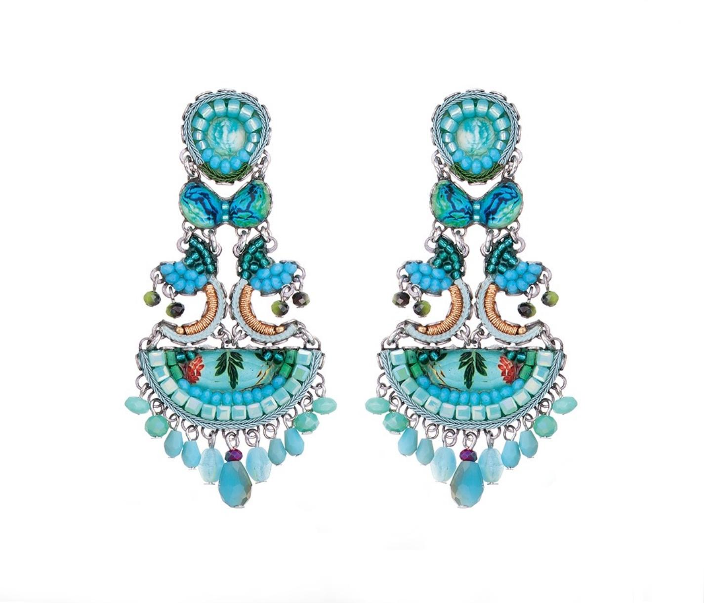 Clear Water - Corin Earrings