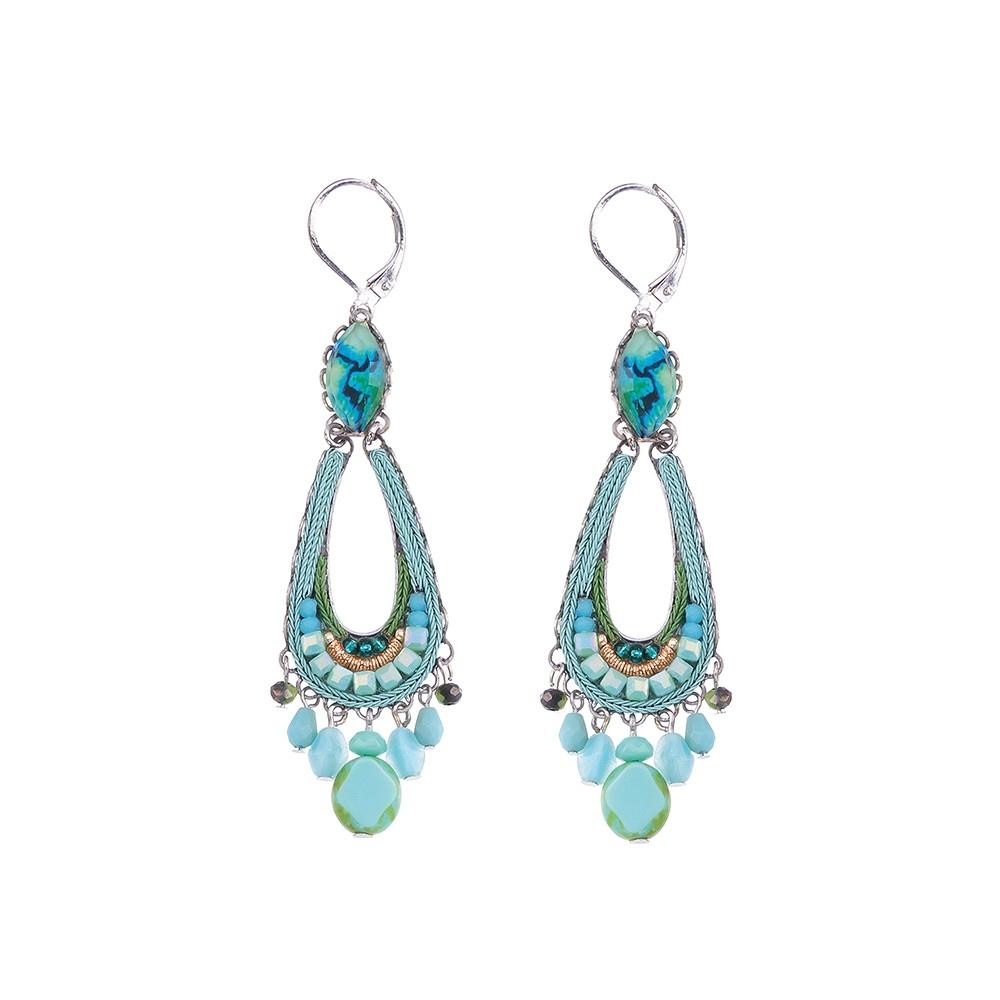 Clear Water - Belle Earrings