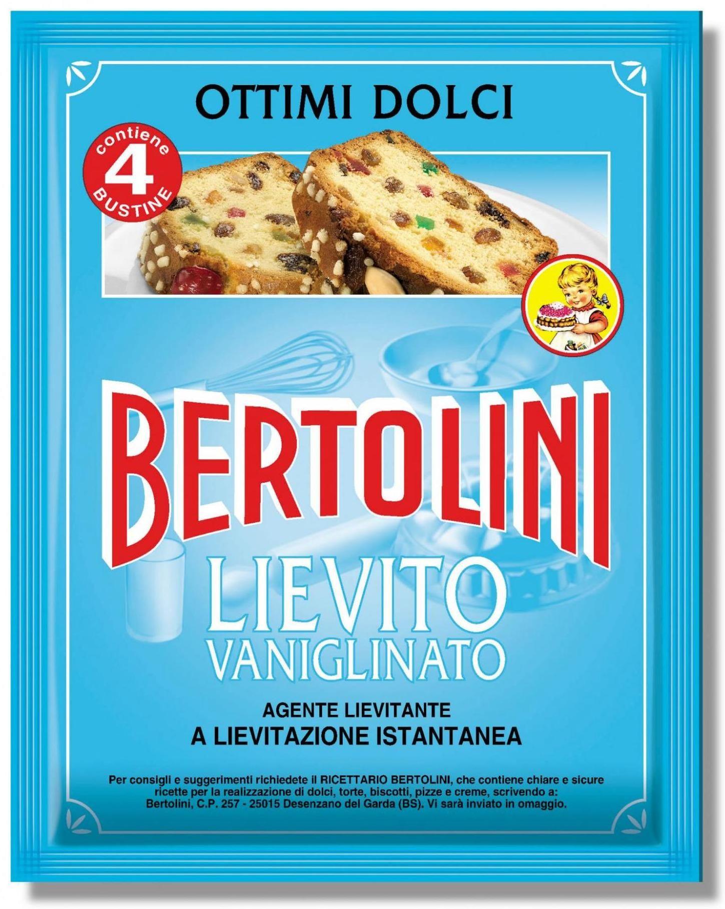 LIEVITO VANIGLIATO BERTOLINI GR.16