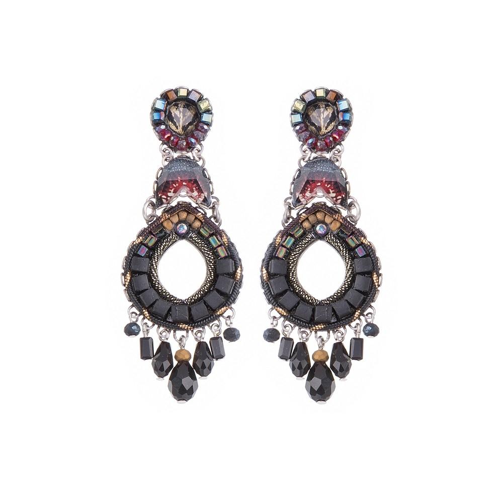 Moon Jet - Supra Earrings