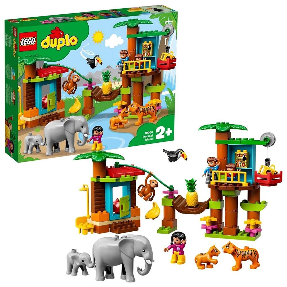LEGO DUPLO TOWN ISOLA TROPICALE CF1
