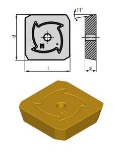 Inserti SPKN 1203 EDSR-MP BCP25M