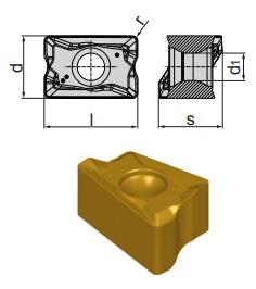 Inserti LNMX 100605 SR-RP BCP35M