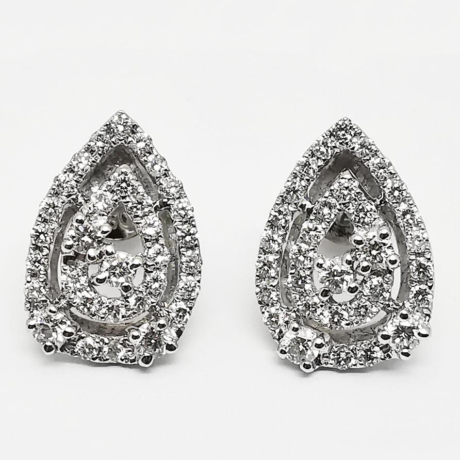 Orecchini Goccia Oro e Diamanti