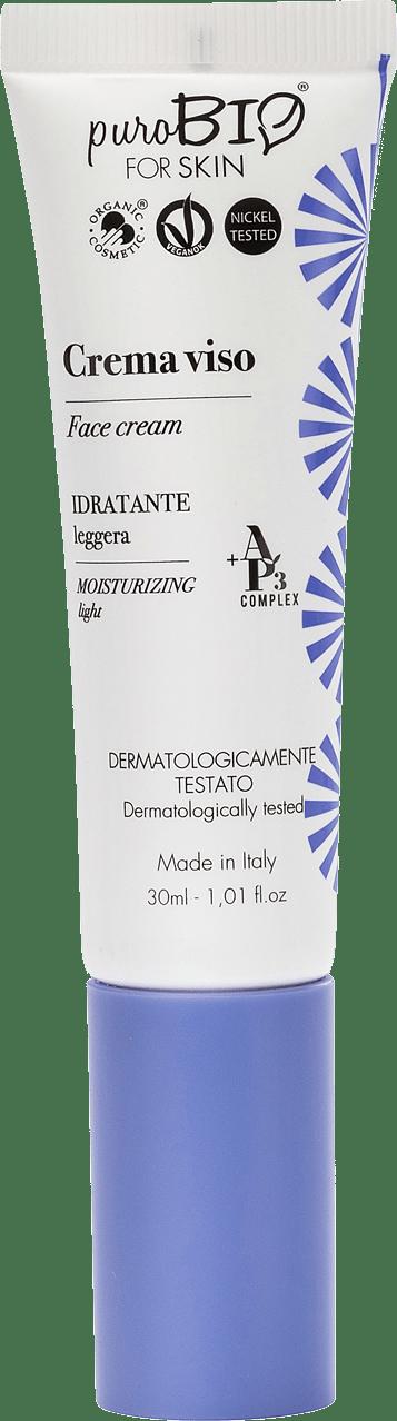 Crema Viso Idratante Leggera