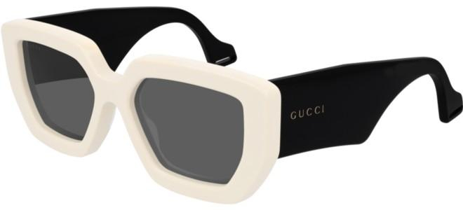 Gucci - Occhiale da Sole Donna, Ivory Black/Grey Shaded  GG0630S  001  C55