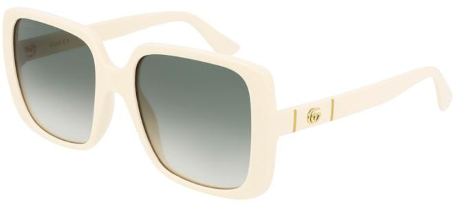 Gucci - Occhiale da Sole Donna, White Ivory/Green Shaded  GG0632S  004  C56