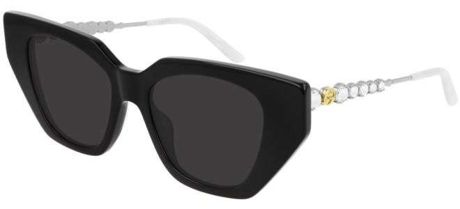 Gucci - Occhiale da Sole Donna, Ivory Black/Grey Shaded  GG0641S  001  C53
