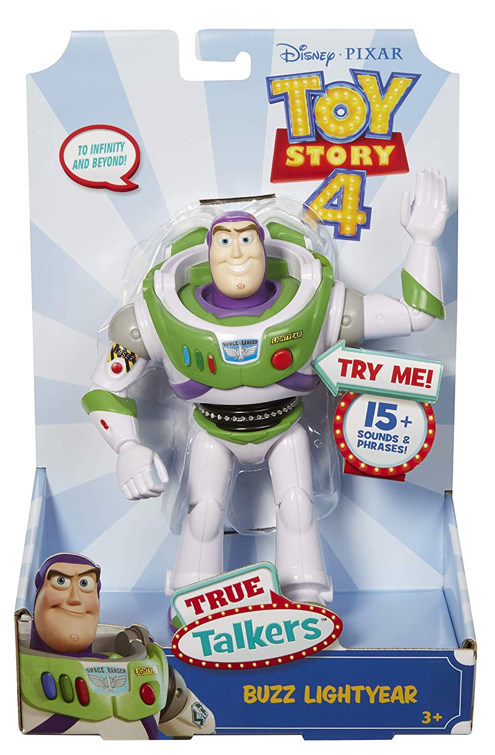 PERS. TOYS STORY BUZZ PARLANTE GFR230 MATTEL TOYS