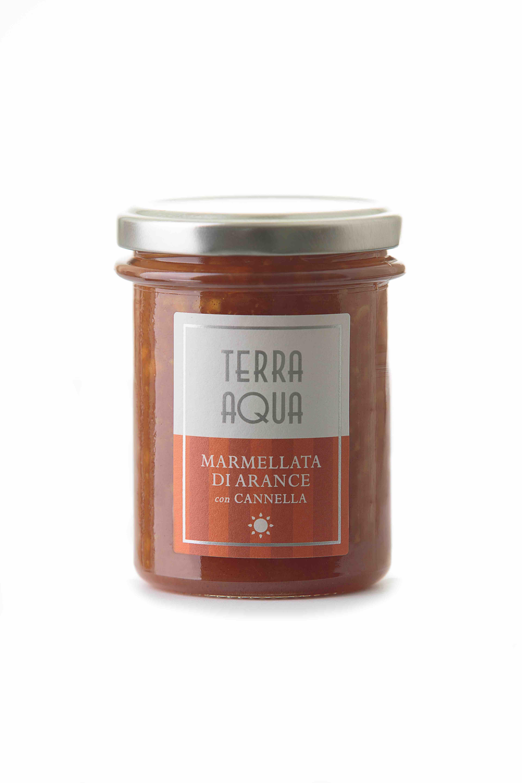 Marmellata di Arance Tarocco con Cannella | Peso Netto 120g - 240g|
