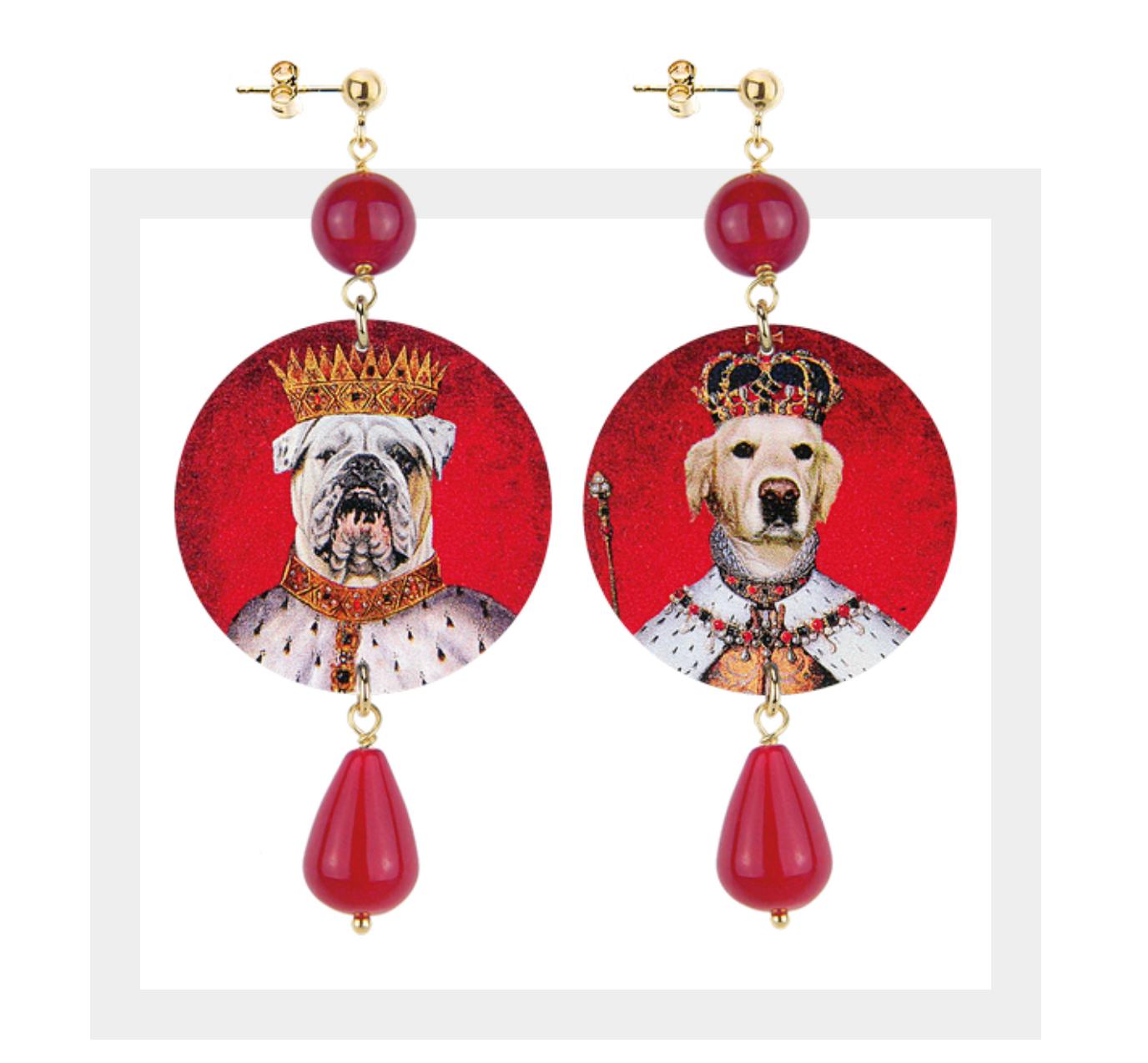 The Circle Classici - Labrador e Bulldog Pietra Rossa