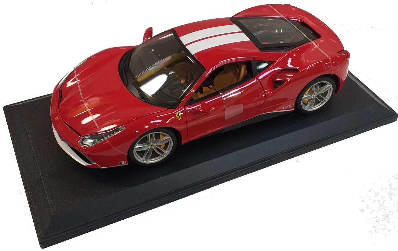 Ferrari 488 GTB 70th Anniversary The Schumacher 1/18
