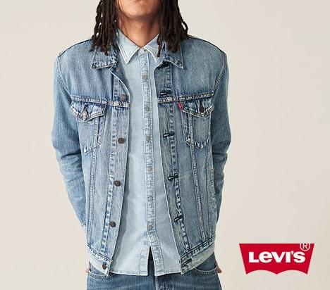 Giubbino in jeans LEVI'S da uomo - TRUCKER JACKET