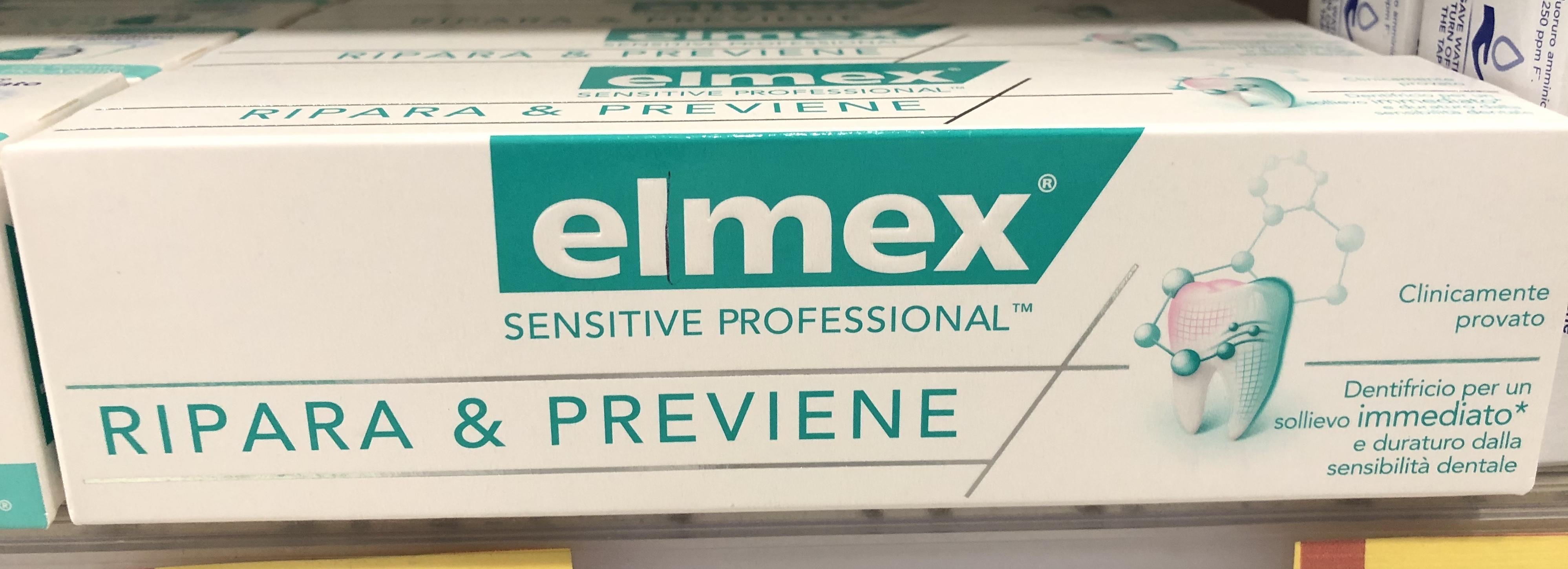 Elmex Sensitive Professional Ripara & Previene 75 ml
