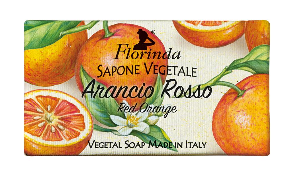 Sapone Solido Arancio Rosso