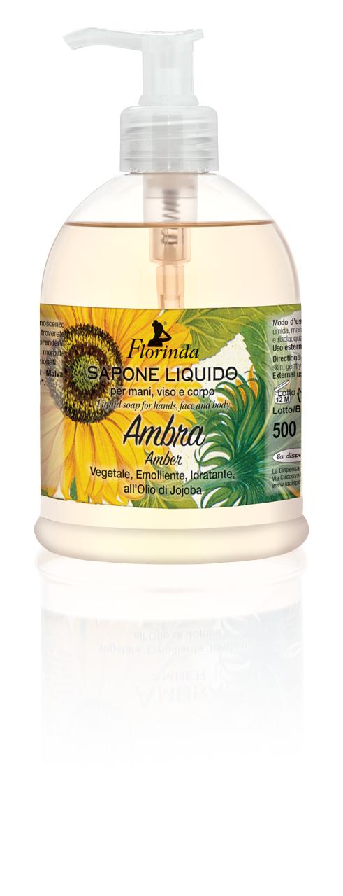 Sapone Liquido Ambra 500 ml