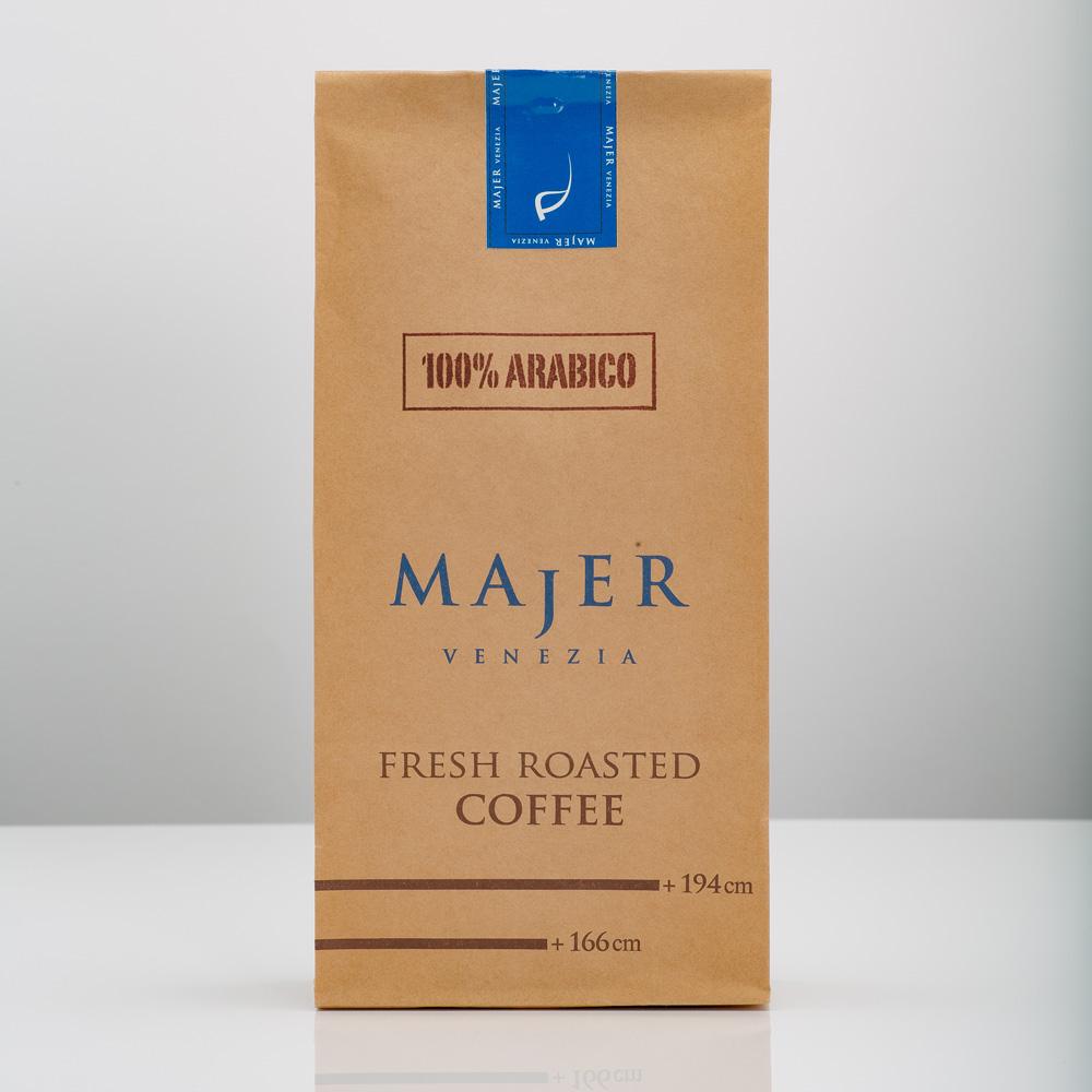 Caffè Majer in grani Arabico 100%  -  1000gr