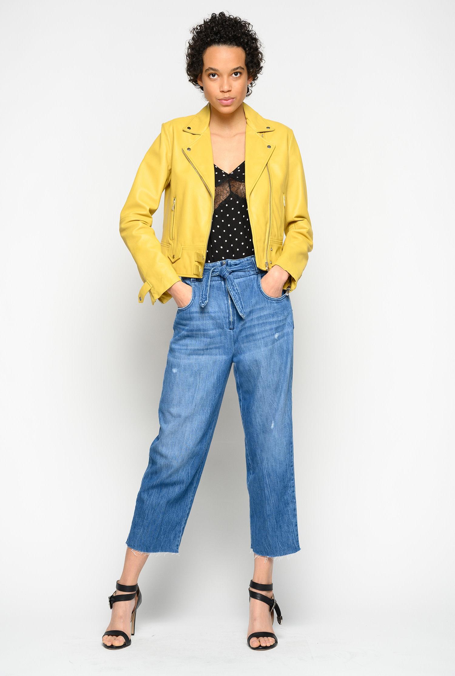 Jeans cinque tasche in comfort twill Pinko