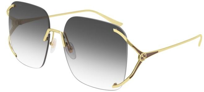 Gucci - Occhiale da Sole Donna, Gold/Grey Shaded  GG0646S  001  C60