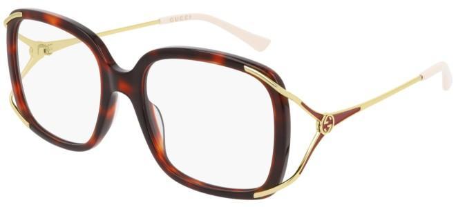 Gucci - Occhiale da Vista Donna, Dark Havana  GG0648O  002  C55