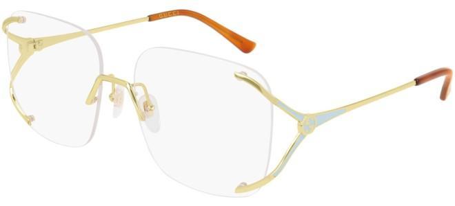 Gucci - Occhiale da Vista Donna, Gold Blue  GG0652O  002  C58