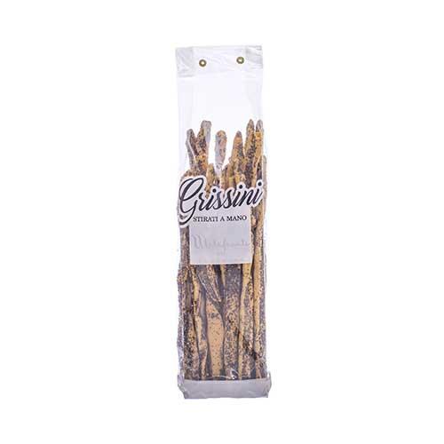 Grissini ai semi di papavero - 250 gr