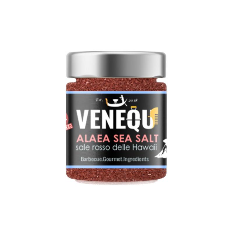 Alaea sea salt - sale rosso in grani delle Hawaii Alaea - 150 gr