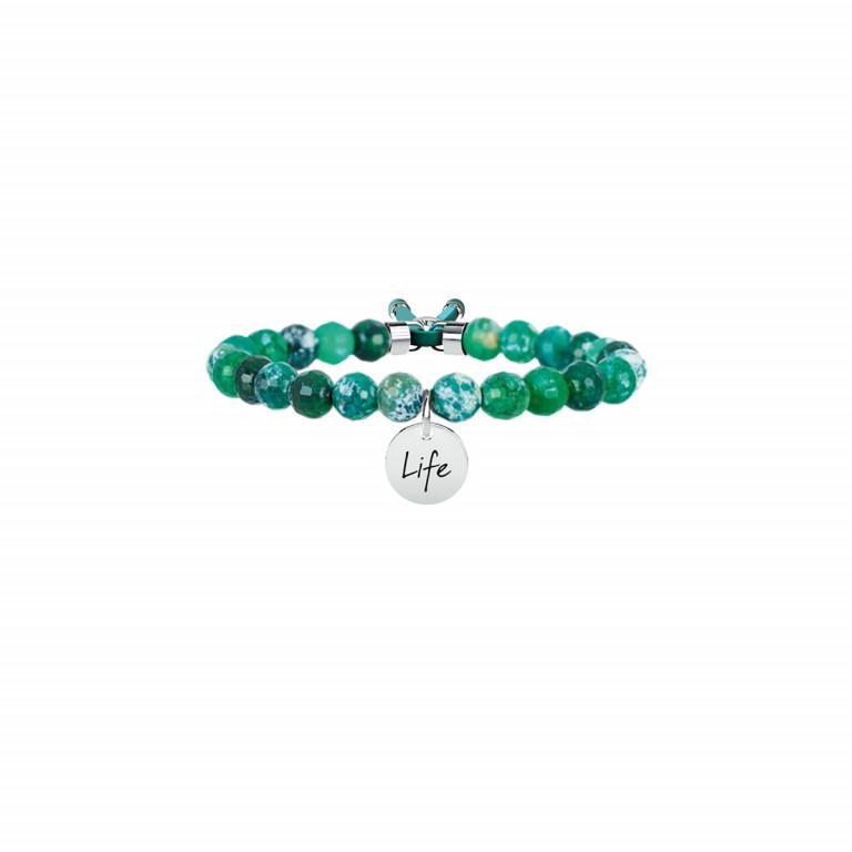 Kidult-Agata Verde/Armonia-Bracciale da donna