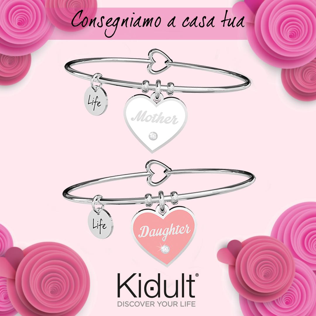 KIDULT-Mother Daughter/Amore Infinito-Bracciali da donna