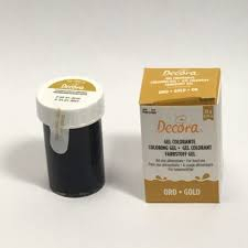 DECORA COLORANTE GEL ORO 28GR