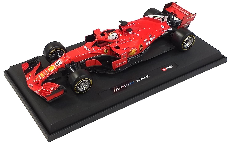 Ferrari SF71-H S. Vettel 2018 1/18
