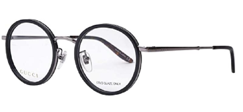 Gucci - Occhiale da Vista Uomo, Black Ruthenium  GG0679OA  004  C48
