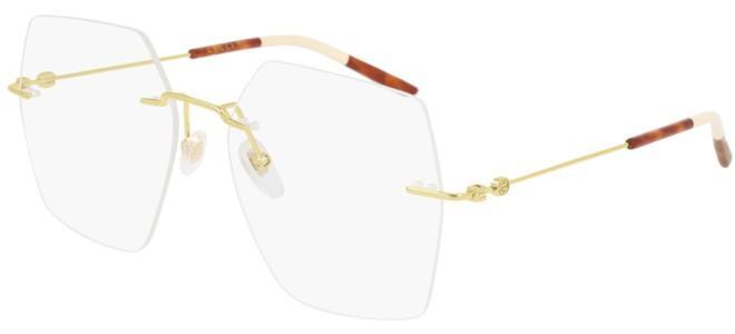 Gucci - Occhiale da Vista Donna, Gold Havana GG0683O  001  C55