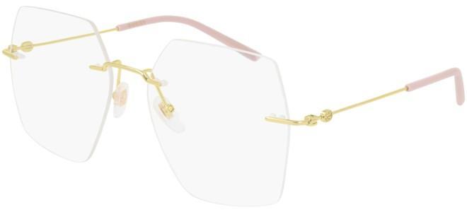 Gucci - Occhiale da Vista Donna, Gold Pink GG0683O  004  C55