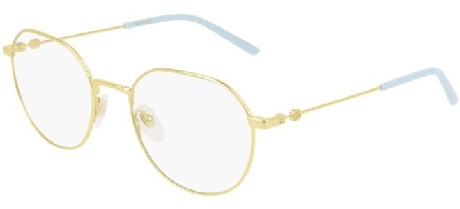 Gucci - Occhiale da Vista Donna, Gold Light Blue GG0684O  004  C51