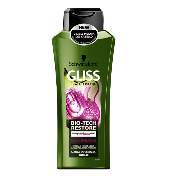 Schwarzkopf Gliss Bio-Tech Restore Shampoo 400ml