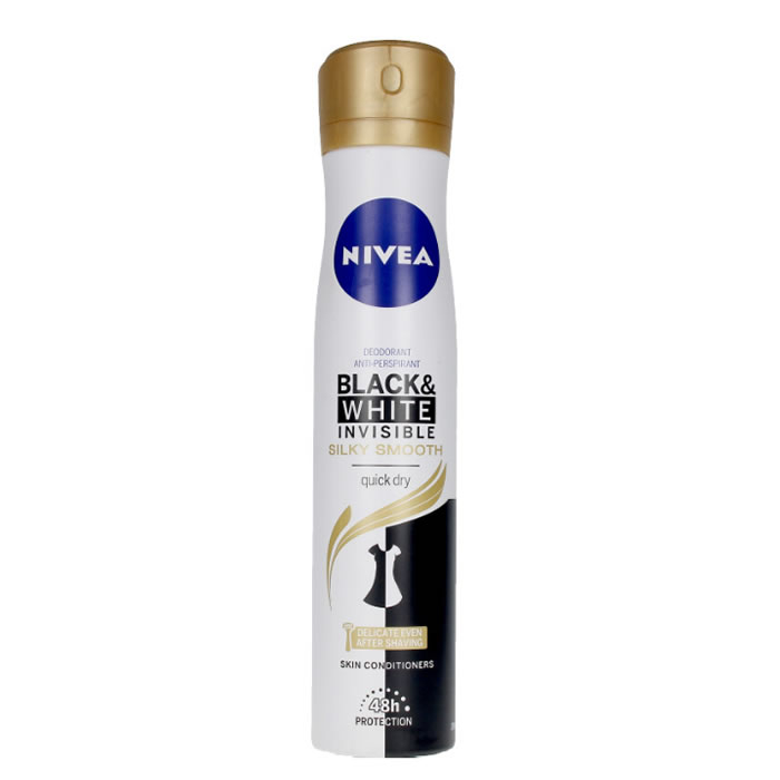 Nivea Black And White Invisible Silky Deodorante Spray 200ml