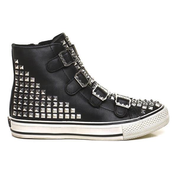Sneakers VIRTU nere borchie - ASH