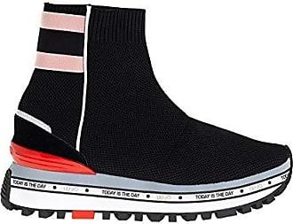 Sneakers Maxi Alexia calza elastica nero - LIU JO