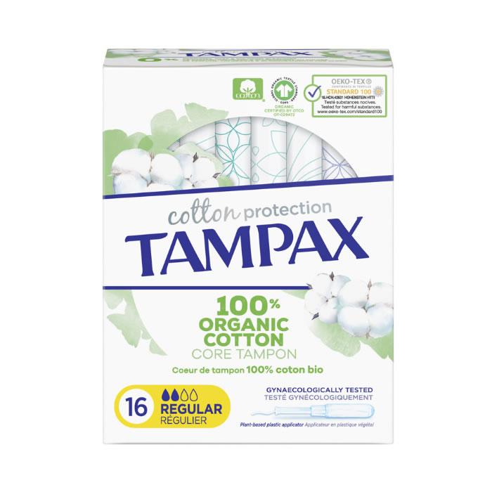 Tampax Organic Regular Tampon 16 Unità