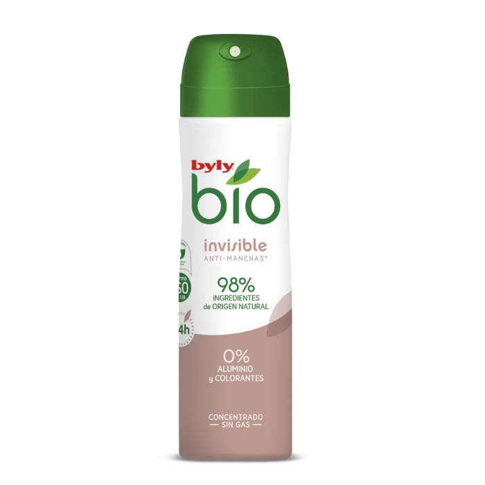 Byly Bio Natural 0% Invisible Deodorante Spray 75ml