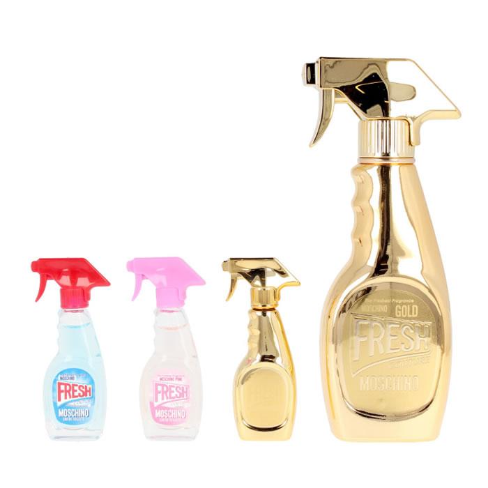 Moschino Fresh Gold Eau De Parfum Spray 50ml Set 4 Parti 2020