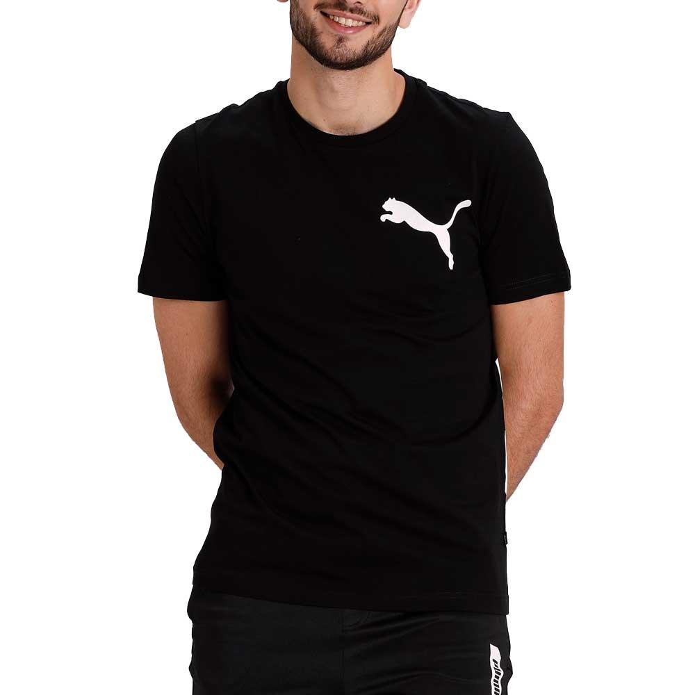 Puma T Shirt Oversize con Logo Black